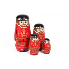 Set of Beefeater Stacking Dolls
