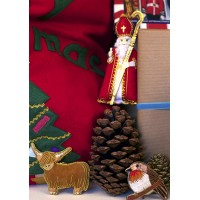 Highland Cow Christmas Tree Decoration