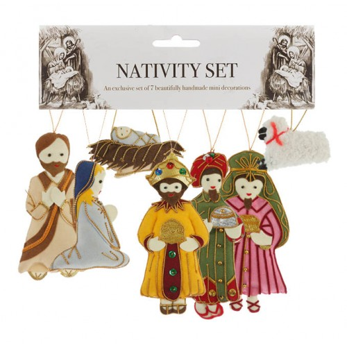 Nativity Set of Christmas Decorations
