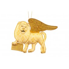 Lion of St Mark Christmas Decoration