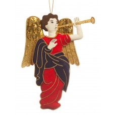 Fanfare Angel Christmas Ornament