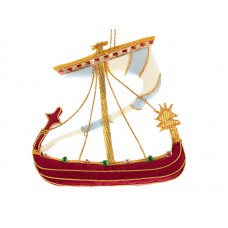Norman Boat Ornament