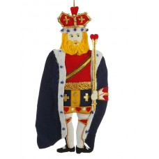 King of Hearts Christmas Decoration