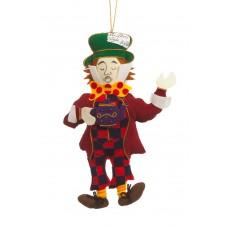 Mad Hatter Christmas Decoration