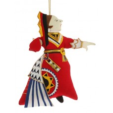 Queen of Hearts Christmas Decoration