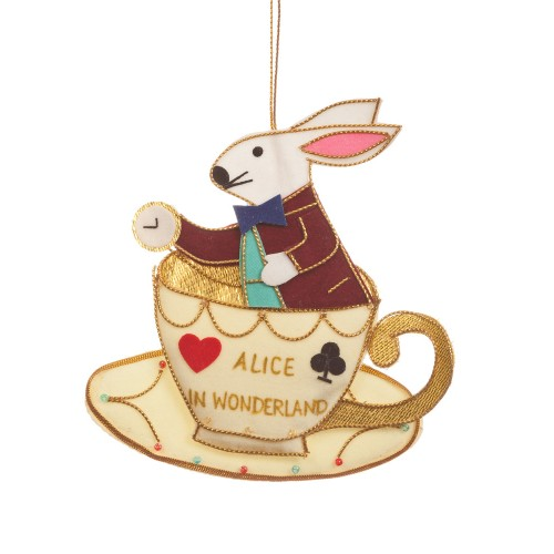 Alice in Wonderland Rabbit in a Teacup