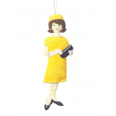 First Lady Jackie Kennedy Christmas Ornament