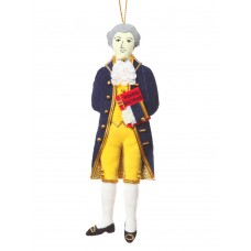President James Monroe Christmas Ornament