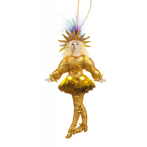Sun King Christmas Tree Decoration