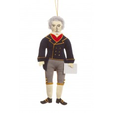 Beethoven Christmas Tree Ornament