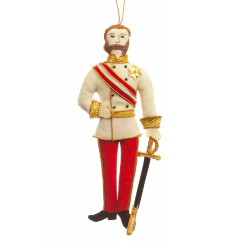 Emperor Franz Joseph of Austria Christmas Decoration