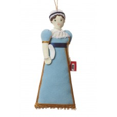 Jane Austen Christmas Tree Decoration
