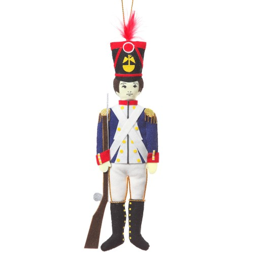 Napoleon's Soldier Christmas Decoration