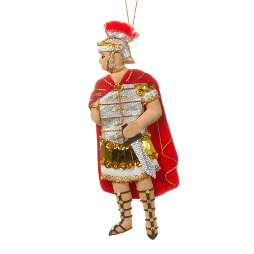 Roman Centurion Christmas Tree Decoration