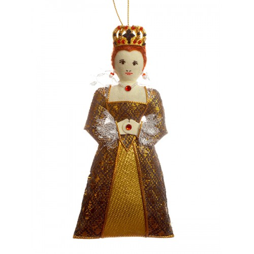 Young Elizabeth I Christmas Tree Decoration