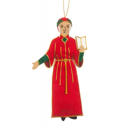 Dante Alighieri Christmas Tree Ornament