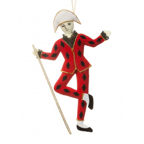 Harlequin Christmas Decoration