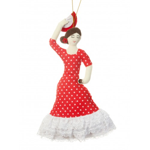 Spanish Flamenco Dancer Christmas Decoration