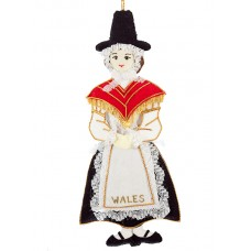 Welsh Lady Decoration for Christmas