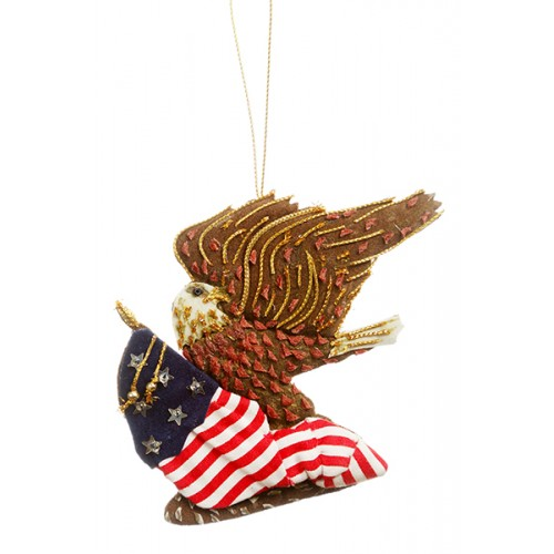 American Eagle Christmas Tree Ornament