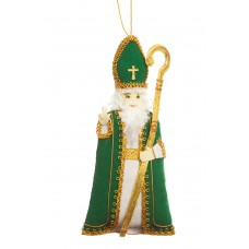 St. Patrick Christmas Tree Ornament
