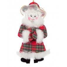 Mrs Claus Christmas Ornament