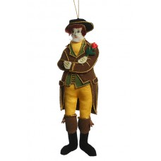 Robbie Burns Christmas Ornament