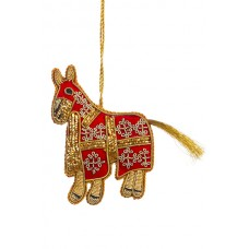 Tudor Horse Christmas Decoration