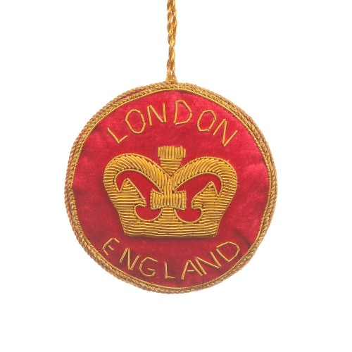 London Crown Roundel Decoration