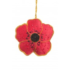 Commemorative Poppy Decoration