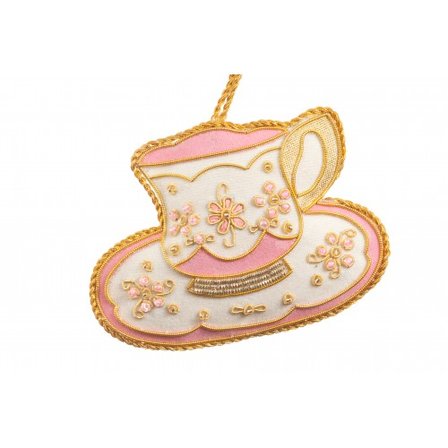 Versailles Tea Cup Christmas Decoration