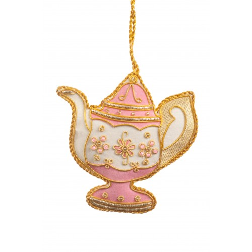 Versailles Tea Pot Christmas Decoration